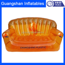 portable double size inflatable recliner lounge sofa