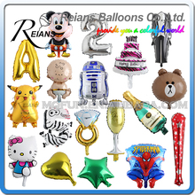 REIANS cartoon models kids gift party toy balloon (accept OEM ODM)