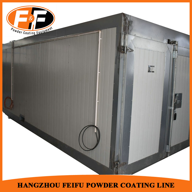 Industrial Gas Heating Fired Type Powder Curing Oven For Powder Paint Line