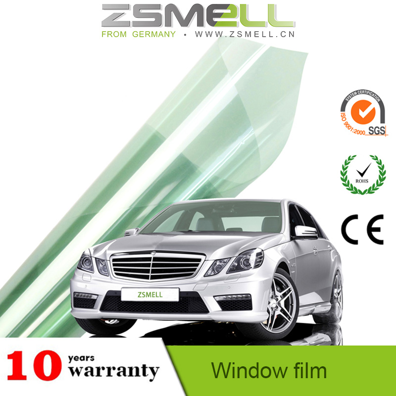 Zsmell high definition stylish best price 2 ply car window film 3m window film