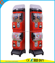 Novelty Design Coin Operated Plastic Toy Station Capsule Vending Machine
