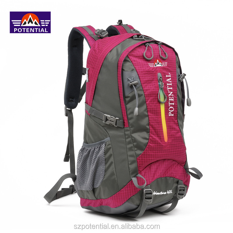 Nylon Fabric and Season Type camping bags for trekking