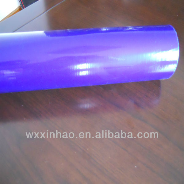 purple tint car light protection film