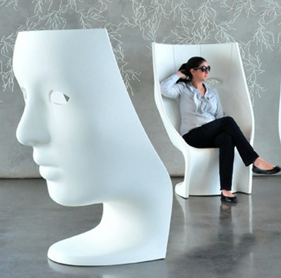 Designer Furniture Nemo Mask Face Chair Driade-nemo Chair ...