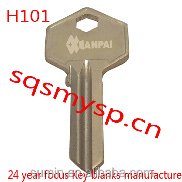 F408 Custom Brass Best H101 Security Blank house key manufactue