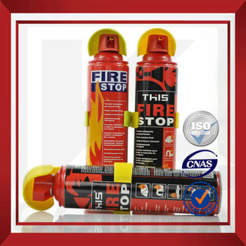 gas fire extinguisher for fire stop