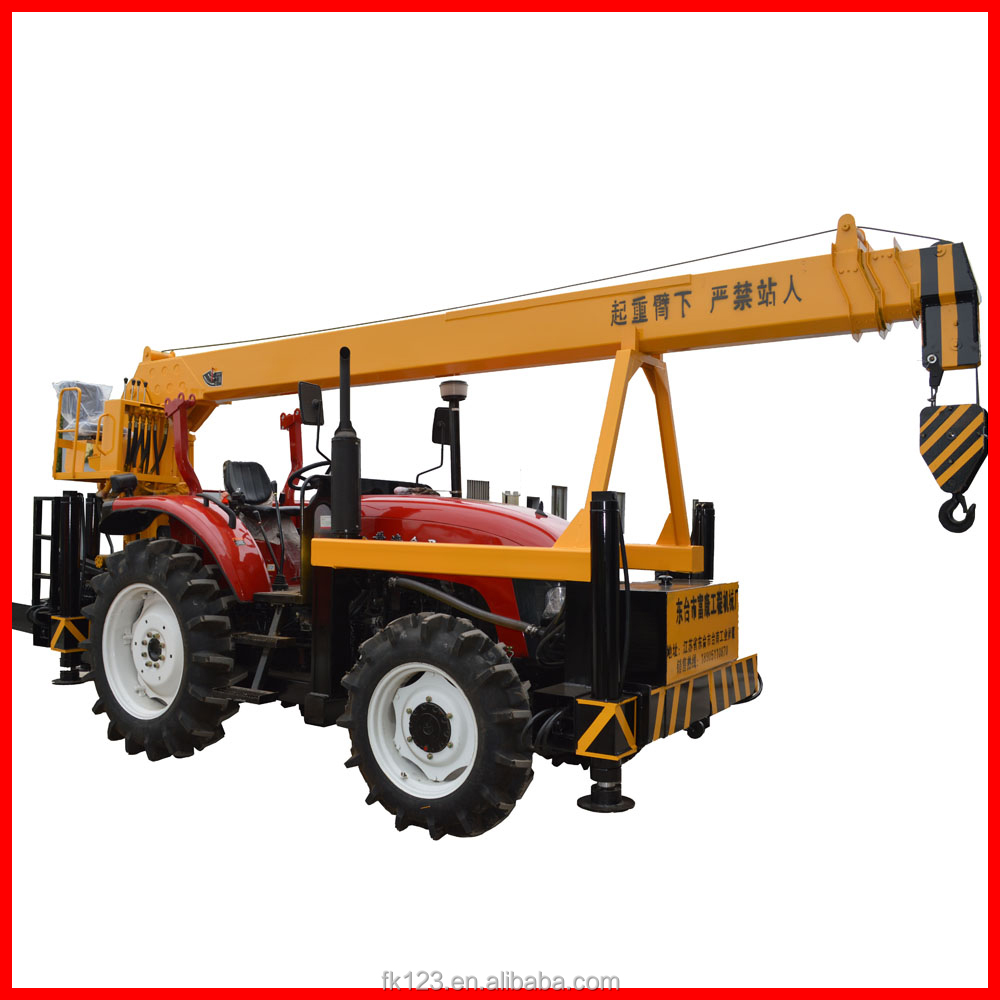 Trade assurance tractor mounted crane with ISO 9001certificate