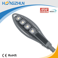 Best Quality High Power Energy Saving 200w Led Street Lightings brideglux Chip Meanwell Driver Supplier