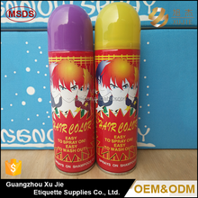 Spray Foam Shape MSDS Harmless Party Formal Evening Party Hair Dye