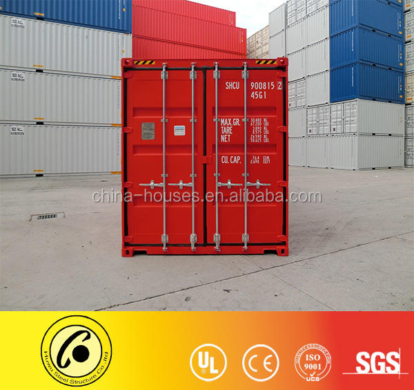 Ship container factory ISO standard 40 foot high cube shipping container