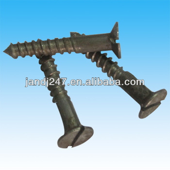 Slot Partial Thread Wood Screws In Guangzhou