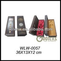 Decorative Wooden Wine Presentation Boxes with Custom Logo (SGS&BV)