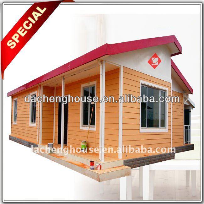 Elegante apariencia moderna casa m vil prefabricada casa - Casa prefabricada moderna ...