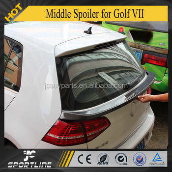 MK7 GTI R20 Carbon Fiber Middle Spoiler Fit For Golf VII 7
