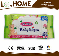 OEM baby wet wipes brand with added chamomile factory price