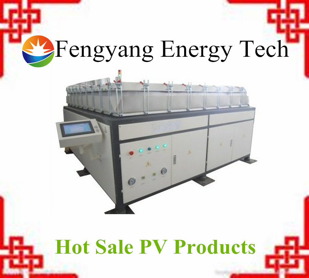 Semi-automatic PV solar panel laminating machine price in India