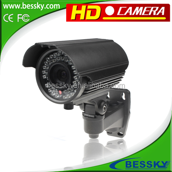 Bessky ahd cctv camera 1/3-inch 1.3 Megapixel CMOS Water resistance IP66 AHD cameras with WDR,3D DNR,OSD functions