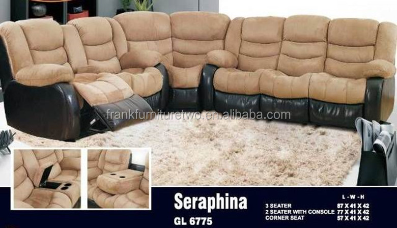 Factory direct wholesale leather sofa,corner sofa living room furniture