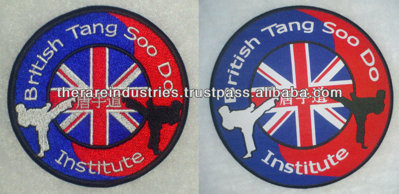 customized embroidered patches and woven patches
