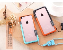 New Korea Fashion Combined color TPU case with high quality for iPhone 7 / 7 Plus from factory directly