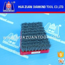 High gloss polishing brush for stone abrasive