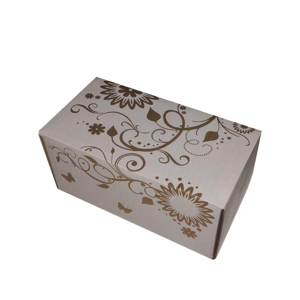 Glossy matte lamination varnished custom packaging box for E commerce online