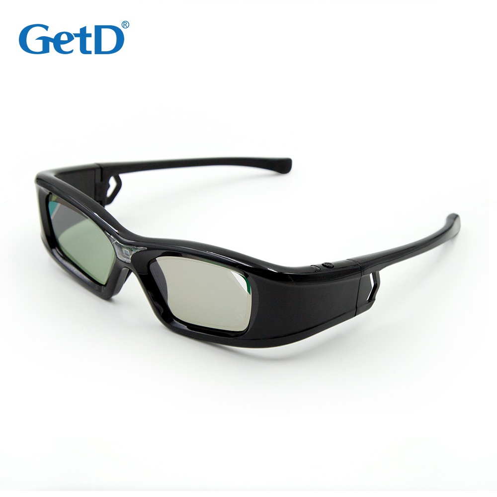 DLP link 3d shutter active glasses for BENQ EPSON ViewSonic projector