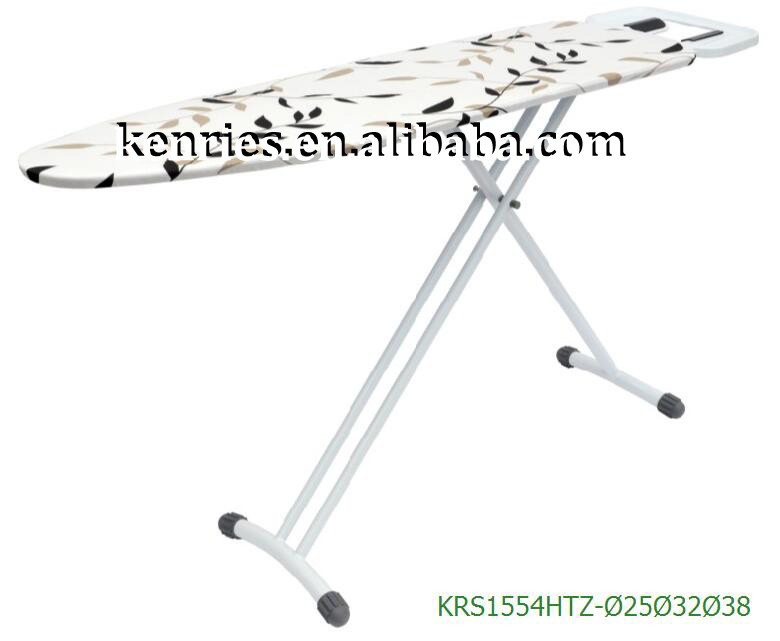 Hotel high quality heat resistant fabric ironing board KRS1554HTZ-25