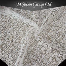 White cord lace fabric, white guipure lace, textile fabric cheaper price