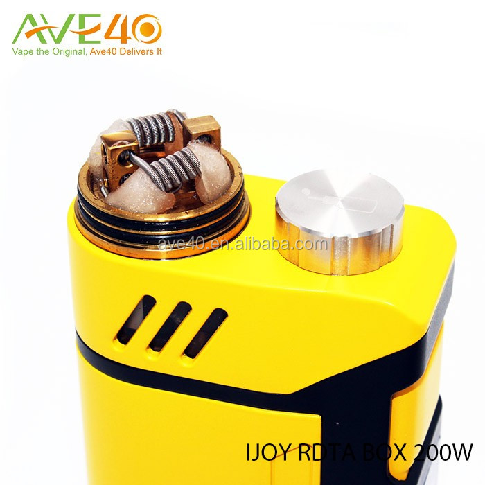 Latest Ijoy RDTA Box 200W kit is available with good price 100% authentic
