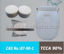 The Fourth Generation Chlorine Dioxide Disinfectant Tablets with Broad Spectrum,TCCA 90%