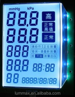 Alphanumeric LCD Panel for Medical Instrument
