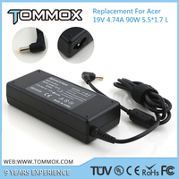 5.5*1.7 L tip 19V 4.74A 90W laptop charge for ACER PA-1650-01 PA-1700-02 PA-1900-04 PA-1900-15 TravelMate 230 4260 4270 4400