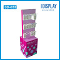 Environmental-Friendly Cardboard Plate Business Accessory Display stand
