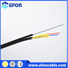 Self-support Tight buffer fiber FTTX drop cable , outdoor aerial fiber optic cable