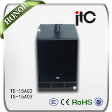 ITC TS-15A02 Series 900W 1000W 4ohm professional active speaker for ip based pa sound system