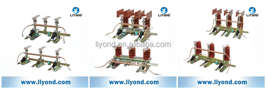 JN15 indooor high voltage earth switch earthing switch grounding switch