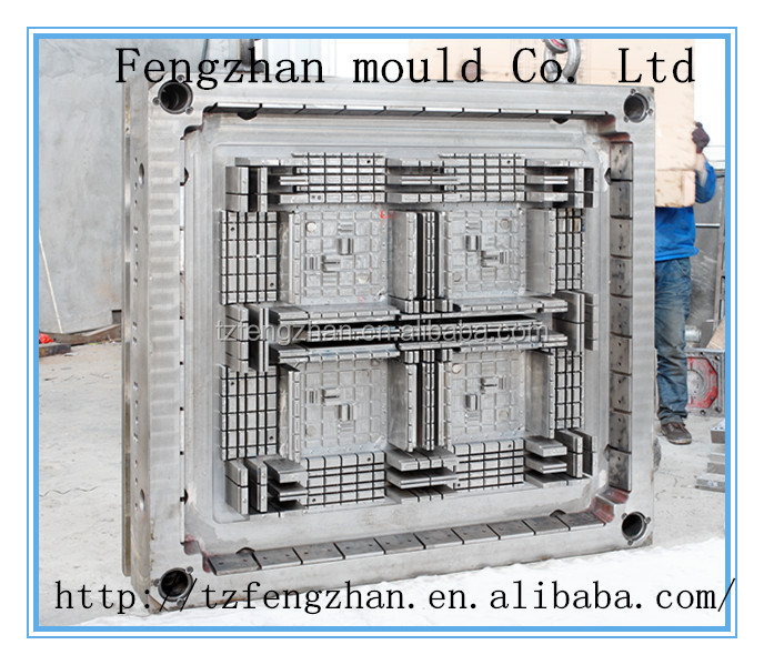 plastic single face pallet mold