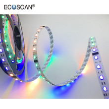 ECOSCAN DC 24V 60 LED Water Proof Xmas Strip Lights Programmable Multi Color