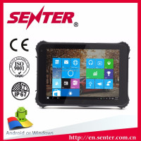 Strong battery life OEM wholesale ST935B 8 inch 2D Window10 WCDMA 3G LTE android handheld mobile terminal rugged tablet pc