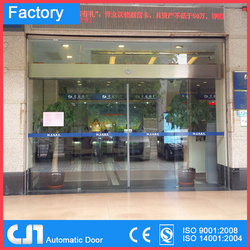 12MM Tempered Glass Automatic Sliding Door