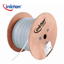 Inkton 4pr 24AWG Stp FTP Lan Cable Cat 5e Network Cable 305m roll Cat5e Cable 1000ft With CE ROHS