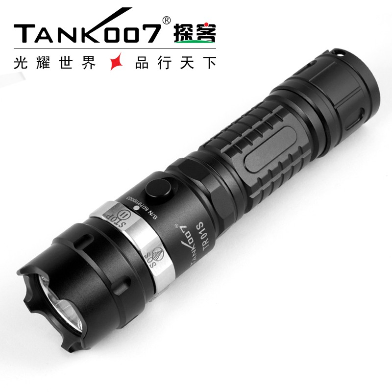 Waterproof led torch 1000LUMENS high power aluminum rechargeable XM-L2 <strong>U2</strong> LED Flashlight