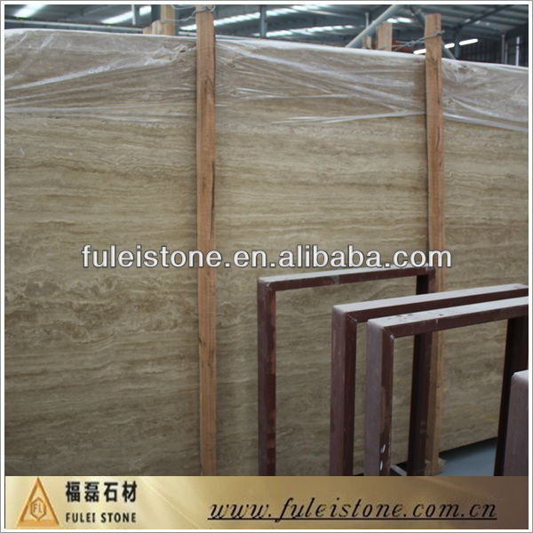 Imported Iranian coffee travertine marble