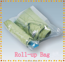 vacuum compression storage bag for easy travel