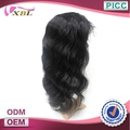 Factory Price Top Quality Peruvian Human Hair Front Lace Wig