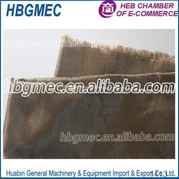 Smooth Surface Treatment Twill basalt fiber cloth for sale
