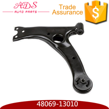 For TOYOTA COROLLA ZZE122 NZE141 car engine spare parts suspension control arm with oem:48069-13010