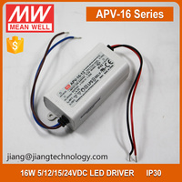 Meanwell APV-16-15 LED Driver 15W 15V 1A Indoor LED Display Power Supply