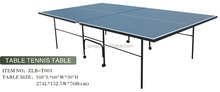Rounded power coated teel tubes legs indoor table tennis table,table tennis international dimensions